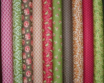 Honeysweet Fat Quarter Bundle of 10 by Joanna Figueroa for Moda