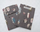 Kindle Paperwhite Case, Kindle Paperwhite Sleeve, Kindle Paperwhite Cover - spotted owl