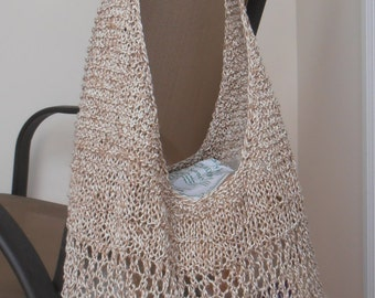 Knitting Pattern for a Market Bag as PDF file