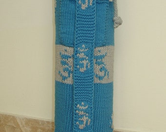 Yoga Mat Bag Knitting Pattern by CraftStruck on Etsy