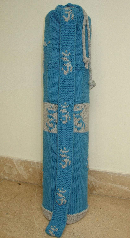 Knitting Pattern Yoga Mat Tote : Yoga Mat Bag Knitting Pattern