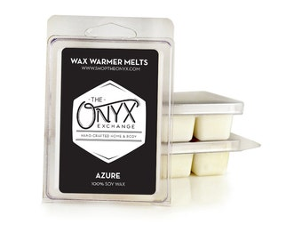 Azure - Cassis Flower and Vetiver - 6 Pack Soy Wax Melts