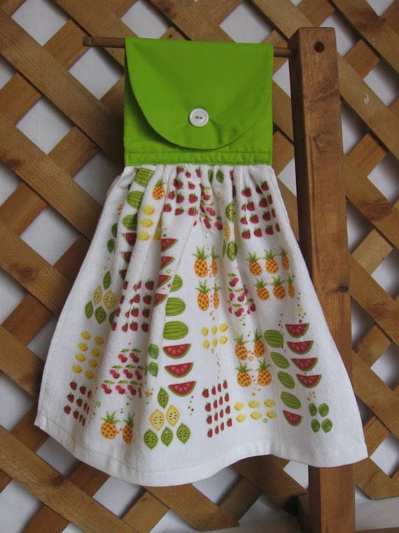 Fruit Kitchen Towel Kitchen Tea Towel Fruit Theme Last One Available