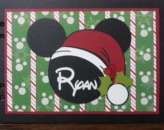 Christmas Disney Autograph Book
