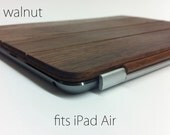 iPad Air 1 or 2 Smart Cover - Walnut wood