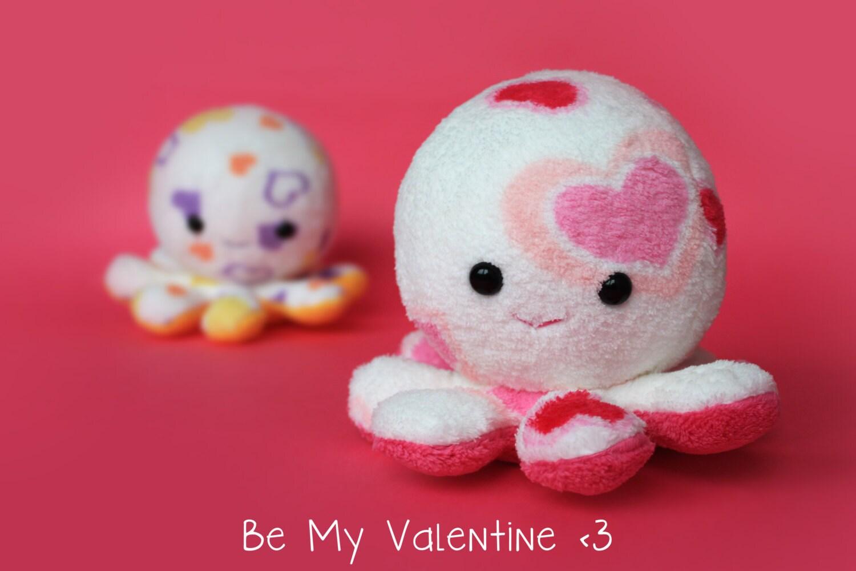 Valentine S Day Talking Toys : Valentine s day octopus plush toy