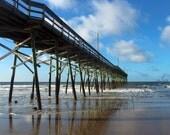 Holden Beach Pier Photograph - Fine Art, Holden Beach, North Carolina