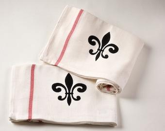 Fleur de Lis - Kitchen towel Set