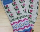 Spring Latvian Fingerless Mitts kit