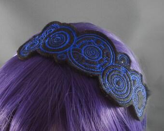 Doctor Who Headband - Gallifreyan Headband Doctor's Name Headband Nerdy Headband Doctors name headband