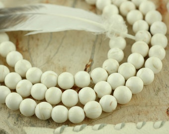 The Sound of the Sea: Natural Nepali Conch Shell Round Beads 8-9mm, 108 beads, White, Nautical Boho Yoga Fashion, Jewelry Making Supplies