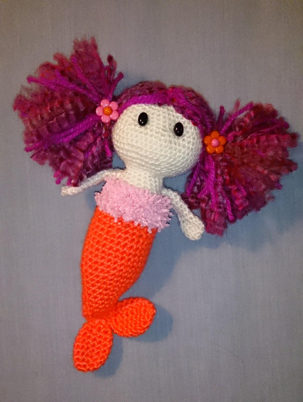 Amigurumi Mermaid Pattern : Crochet Amigurumi Mermaid Pattern