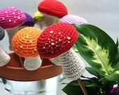 Magic Mushroom Indoor Garden Stake