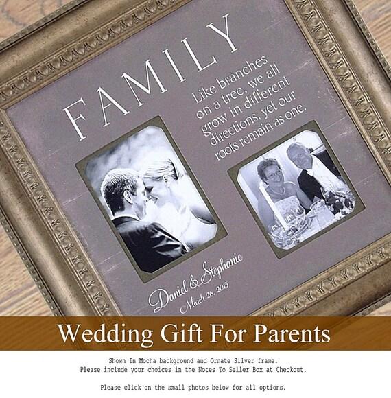 Wedding Gift Father Of Groom : Parent Wedding Gift, Father of the Bride Groom Gift, Wedding Frame ...