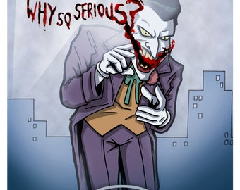 BTAS Joker 11x17 Digital print