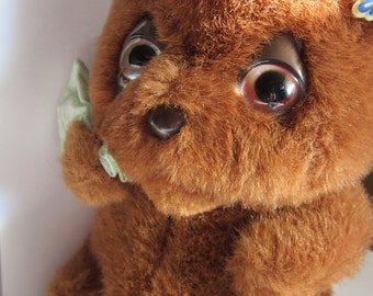 "Rare Vintage Mattel 1983 Emotion ""Boo Hoo"" Teddy Bear. Adorable, great condition, with Tag"