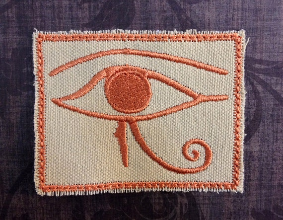 Egyptian Eye of Horus Patch - Copper