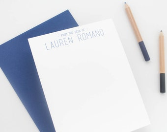 Personalized stationery set // Personalized stationary // Personalized Thank you cards // personalized note cards // stationery men