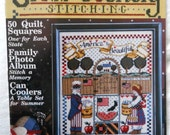 Cross Stitching Patterns - Cross Country Stitching Magazine - Folk Art Patterns - Vintage Cross Stitch Patterns