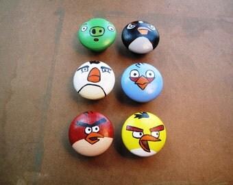 Angry Birds Dresser Knobs