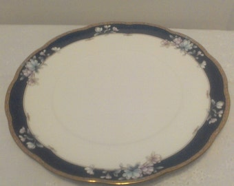 Vintage Noritake Bone China Dinner Plate Sandhurst 9742, Dining, Kitchen, Serving, Home, Victorian, Shabby Chic, Antique, Collectible, Retro
