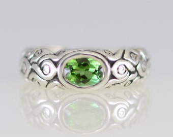 Tourmaline Magical Ring in Sterling Silver