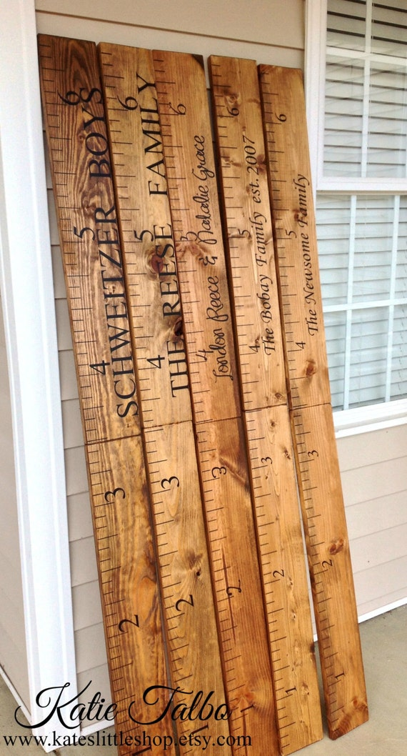 Giant Ruler Family Growth Chart Children S By