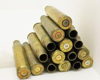 Lot 16 223 WINCHESTER Caliber BRASS Gun Shells Casings Spent Empty Craft DIY