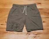 Bike Shorts, Men's Shorts, Men's Yoga Shorts, Workout Shorts, S,M,L,XL
