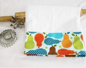 Perfectly Pears Flour Sack Kitchen Towel