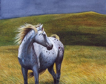 Promise of Freedom, limited edition giclee print by Cindy Alvarado