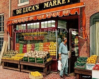 DeLucas Market Boston MA