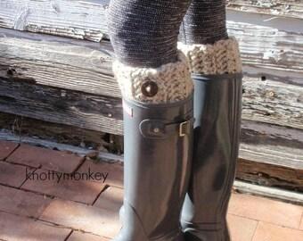 Crochet Boot Cuffs Knit Boot Topper Leg Warmer Boot Socks Wellies Socks Gift for Her, Teen, Women Fall Apparel, Winter Fashion