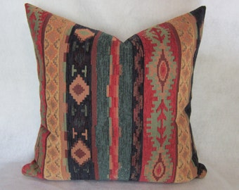 Southwest Pillow Cover in Upholstery Grade Material
