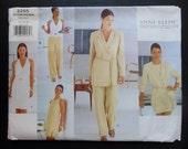ANNE KLEIN * 1990's VOGUE Un- Cut Sewing Paper Pattern * Vogue # 2255 *... Size 12 - 14 - 16_  Misses' & Petite