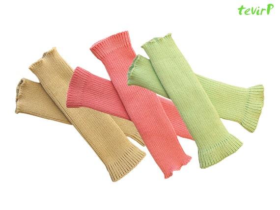LEG WARMERS - Toddler -2, 3, 4 years 100% MERINO wool knit baby legs ballet dance socks