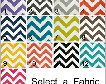 Chevron Curtain Zippy Valance ZigZag Curtain Kitchen Curtain Childs Valance 52x12 52x14 52x16 or 52x18