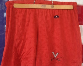 Vintage Virginia Cavaliers lacrosse short USA