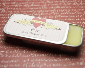Solid Perfume - Eve - Perfume Crème Tin - Blood Oranges, Fig, Sliced Apple, Rose, Lily of the Valley