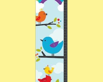 Personalized Birdie Buddies Growth Chart - Boy
