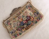 Vintage Jolles Original Petit Point Made in Austria Purse