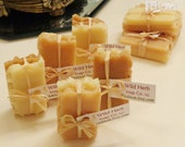 MINI HONEY Soap Sets (2 slice packs) ADORABLE Goody Bag Favor - Honeycomb Bee theme, Rustic, Pooh bear, Baby, Weddings, Bridal Showers