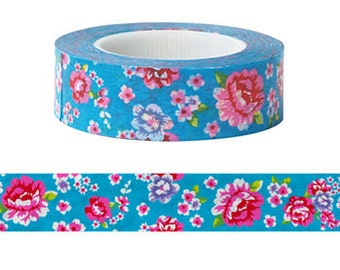 Hakka-Blue Washi Tape (15M)