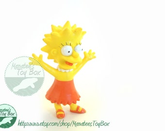 1990 Lisa Simpson Toy Figure: From The Simpsons Show