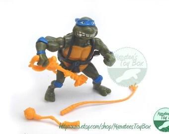 CLEARANCE TMNT Leonardo Action Figure: Sword Slicin Leonardo Complete