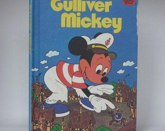 Gulliver Mickey Mouse Notebook - Handmade Disney Notebook