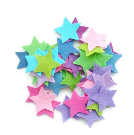 Felt star shapes craft supply felt star arts and crafts for Felt arts and crafts