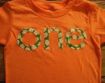 Ready to Ship Green and white ghost print tee Shirt Birthday Tee Organic Shirt Blend first birthday Orange Halloween