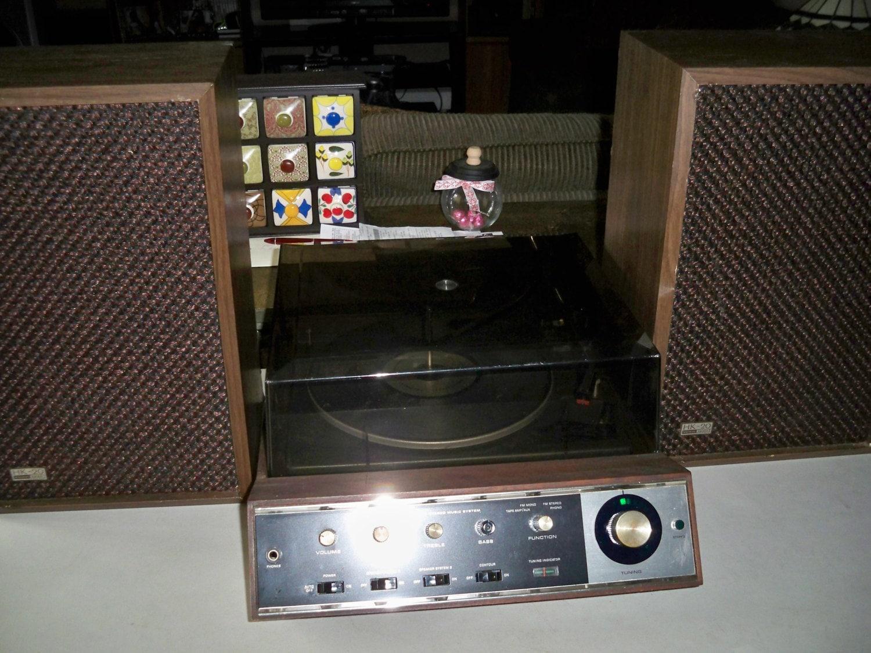 vintage 1970 39 s harman kardon sc18 stereo music center. Black Bedroom Furniture Sets. Home Design Ideas
