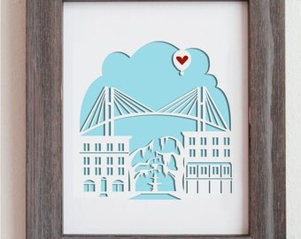 Savannah, Georgia - Personalized Gift or Wedding Gift